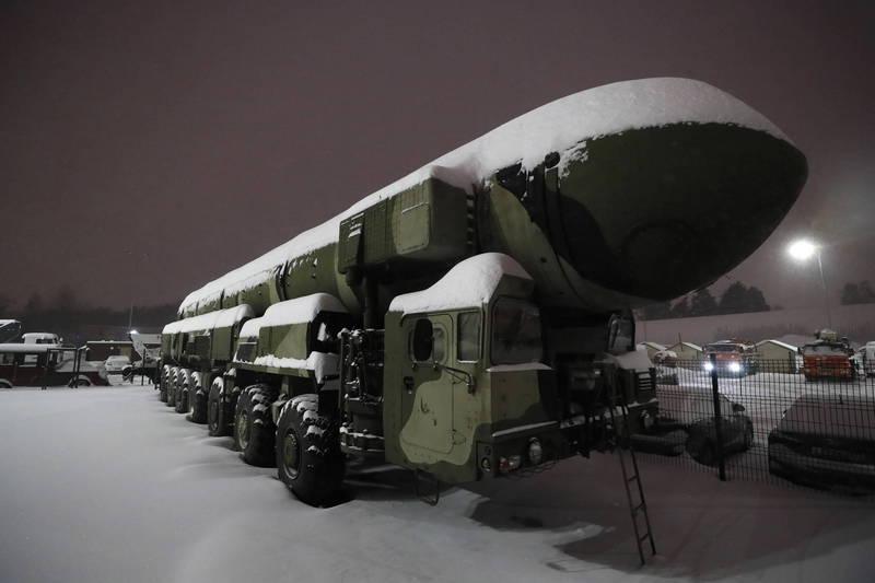 美国近30名国际核安全专家11日联合致函拜登政府,敦促拜登政府让美国重返核裂变物质的领导地位,图为俄国Topol战术弹道飞弹。(欧新社)(photo:LTN)