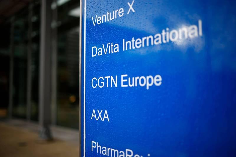 在英國撤銷中國環球電視網(CGTN)的營業執照後,英國電信集團「沃達豐」旗下的「沃達豐德國」也停止CGTN在德國放送。(法新社)
