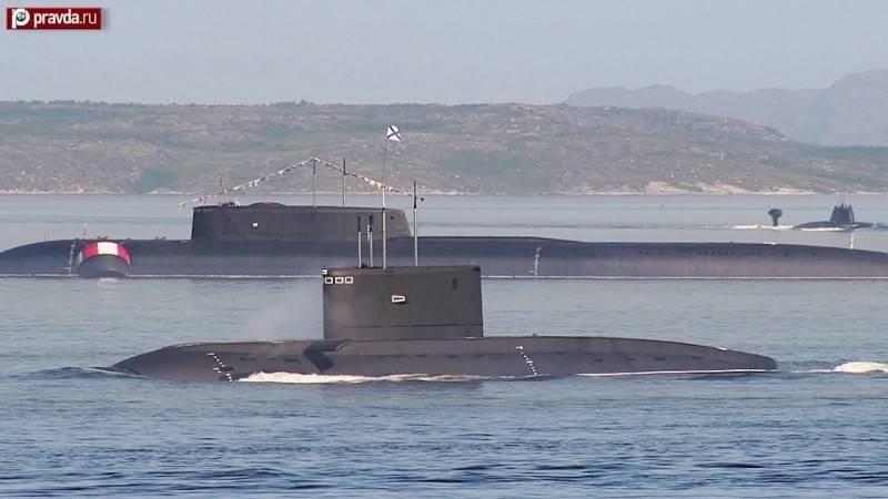 俄罗斯最大核潜舰、2019年4月下水的「别尔哥罗德号」,将执行「海神」第一次试射任务。(YouTube影片截图)(photo:LTN)