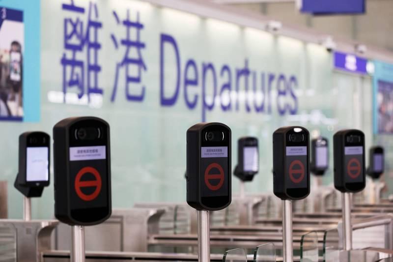 香港政府擬修法授權入境處處長,可指示某運輸工具不可運載某人離開香港。(路透)
