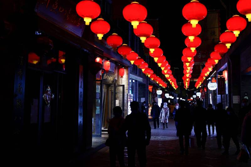 The epidemic in China continues to spread with fever. There are currently 763 confirmed cases, 470 asymptomatic infections, and 1 suspected case. The picture shows the streets of Beijing.  (Reuters)