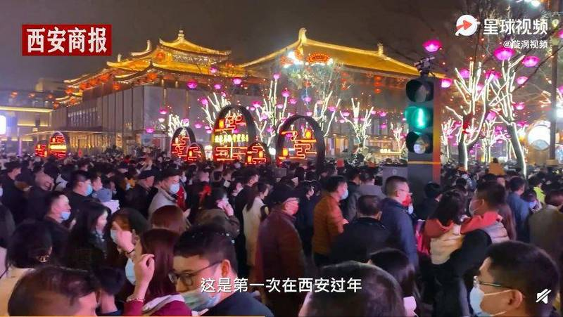 Tourists were not afraid of the epidemic, and the famous Chinese attraction