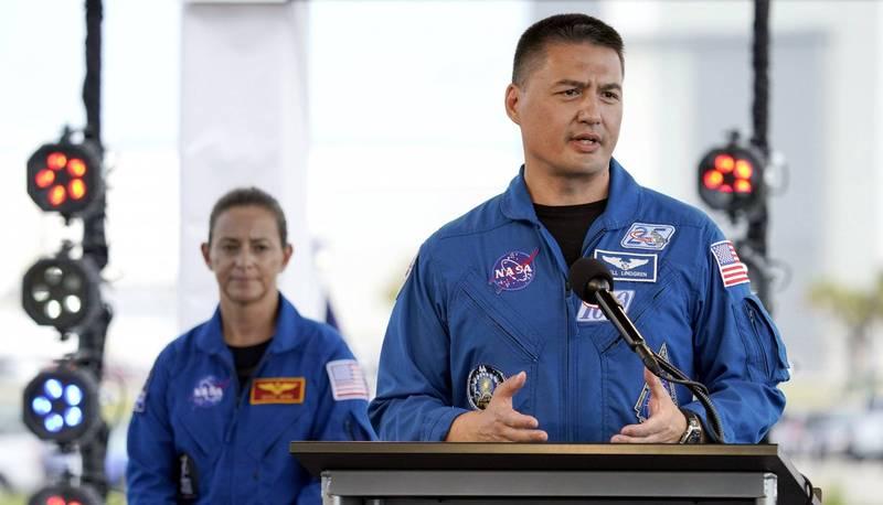 台灣出生的美國太空人林琪兒(Kjell Lindgren)。(美聯社)