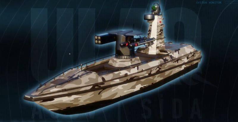 土耳其首艘武装无人舰「SİDA」渲染图。(截取自Meteksan Savunma官方网站)(photo:LTN)