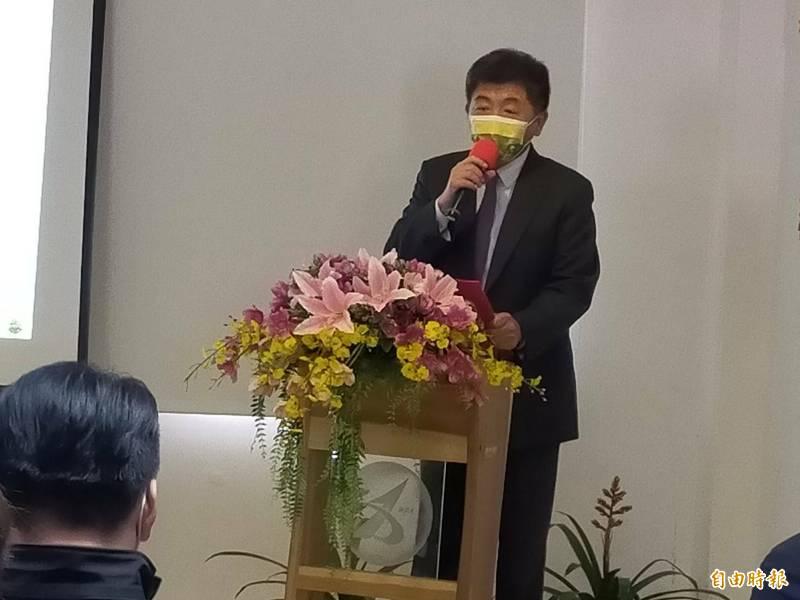 衛福部長陳時中。(記者張軒哲攝)