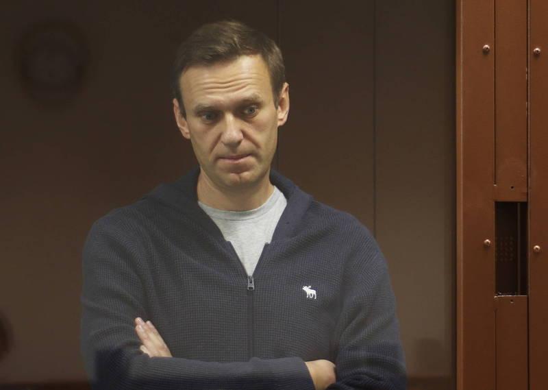 俄国反对派领袖纳瓦尼(Alexei Navalny)在17日返俄后旋即被捕,并在本月2日被判刑入狱。(路透)(photo:LTN)