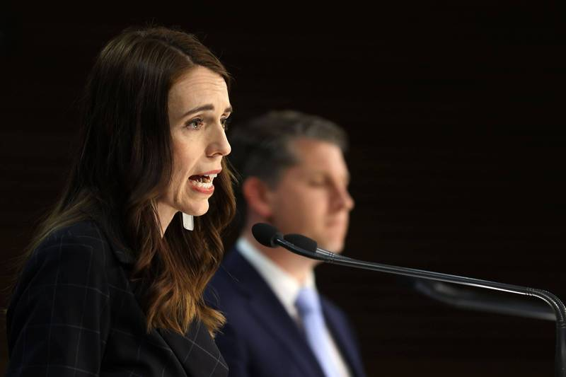 紐西蘭今日傳出3起感染源不明的武肺本土病例,總理阿爾登宣布,奧克蘭午夜起進入為期3天的封城。(法新社資料照)