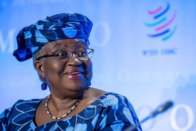 奈及利亚前财政部长伊卫拉出任世贸组织秘书长,成为这个组织历来首位女性及非裔的领导人。(欧新社)(photo:LTN)