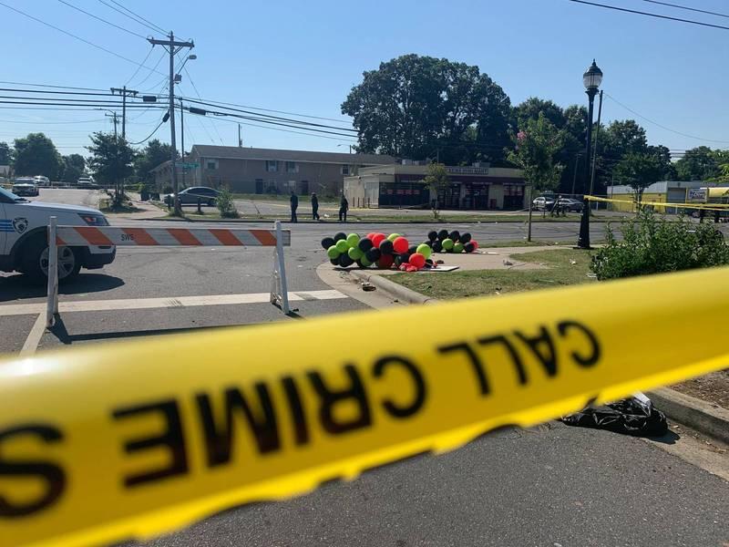 美国北卡罗莱纳州73岁阿嬷遭2名蒙面歹徒入屋抢劫并开枪打伤,她年仅12岁的孙子见状连忙拿出枪枝反杀1人。北卡州警察示意图。(美联社)(photo:LTN)