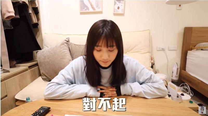 網紅愛莉莎莎在YouTube發表談論「肝膽排石法」影片,被台大兒科醫師「蒼藍鴿」等醫界人士指正後引發網友抨擊。(翻攝自愛莉莎莎YouTube頻道)