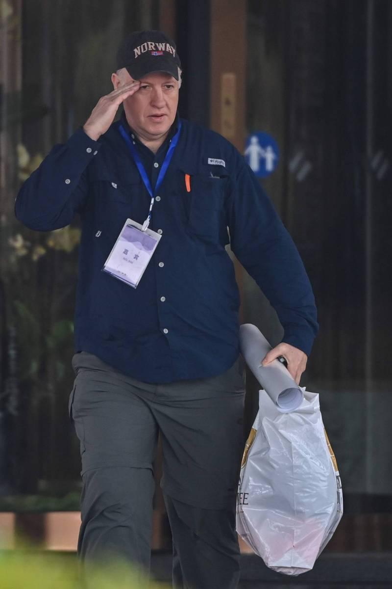 被澳洲媒体点名与中国官方机构有关的世卫病原体顾问达斯札克。(法新社)(photo:LTN)