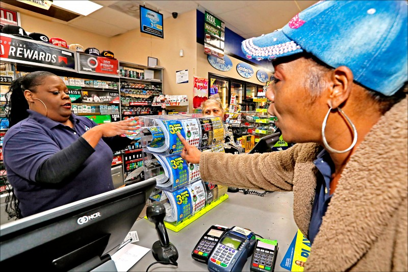 American people buying lottery tickets, schematic diagram.  (Associated Press file photo)
