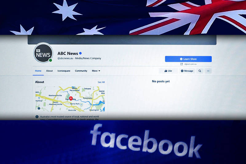 Facebook announced that it will stop viewing and sharing news among Australian users.  (This newspaper is synthesized)