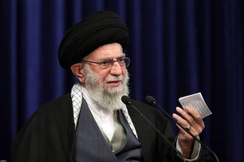 伊朗最高领袖哈米尼17日要求拜登政府採取行动,恢复伊核协议,「不要只会说好听话」。(欧新社)(photo:LTN)