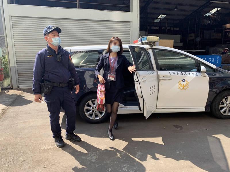 警方在春節前後提供護鈔服務。(記者許國楨翻攝)