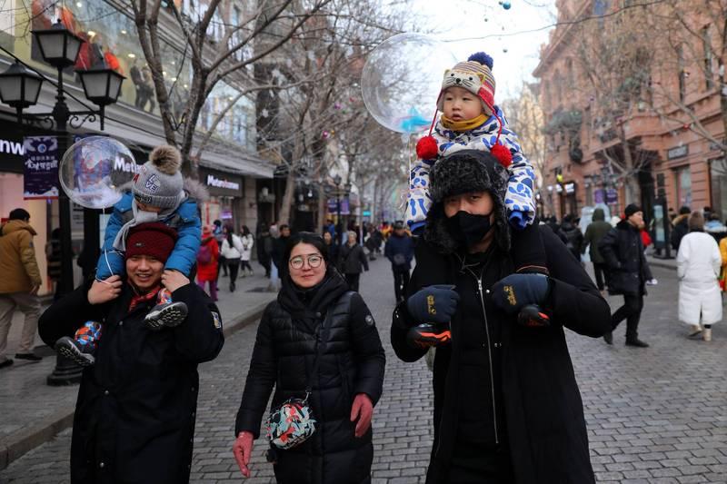 中國東北人口減少,官方考慮開放「生育限制」引議。示意圖。(歐新社檔案照)