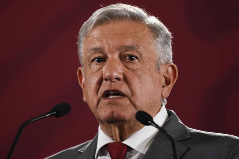 受美暴雪影響,墨西哥大規模停電,盼德州州長撤限氣令。圖為墨西哥總統羅培茲歐布拉多。(法新社)