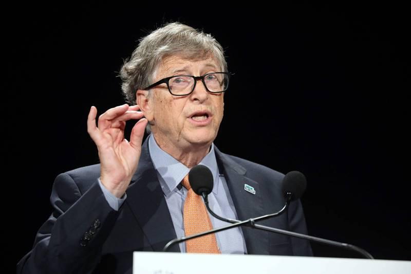 微軟創辦人比爾蓋茲。(法新社)