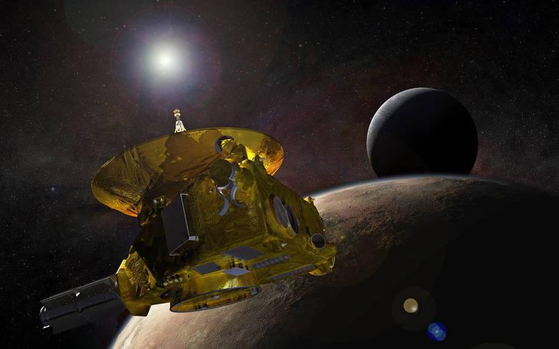 美國太空總署(NASA)新視野號對冥王星的觀測結果,提供科學家數據,得以推測宇宙中星系的數量應該是數千億個,而不是最初認為的2兆個。(歐新社)