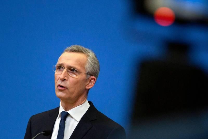 北約秘書長史托騰伯格(Jens Stoltenberg)在18日會後表示,北約撤軍阿富汗與否陷入困境,圖為史托騰伯格。(法新社)