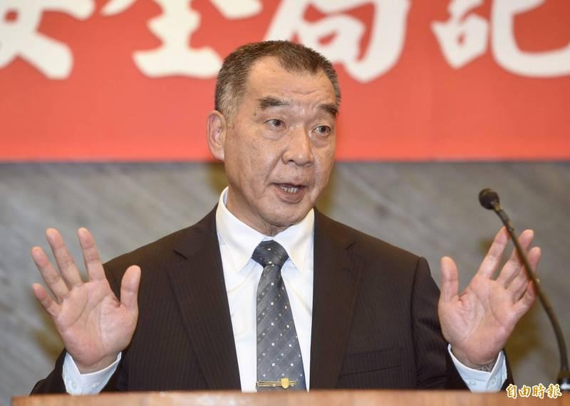 邱國正即將接任國防部長,他表示,以往兩岸不曾有如此嚴峻情勢,將與大家共同努力面對。(資料照)