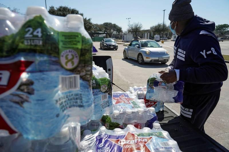 德州近半民眾面臨無水可用窘境。(路透)