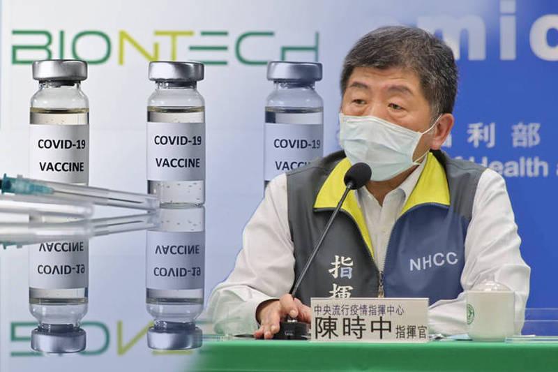 陳時中今天透露,和東洋、雅各臣代理破局後,德國BNT總公司主動跟台灣聯繫,希望繼續談後續合約。(本報合成)