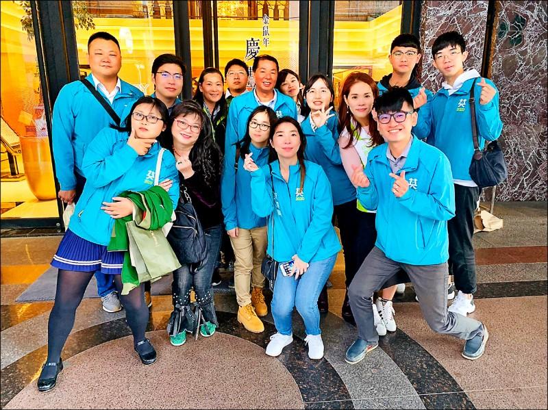 民進黨台南市黨部青年部去年舉辦青年入政訓練營,報名踴躍。 (資料照,記者王姝琇翻攝)