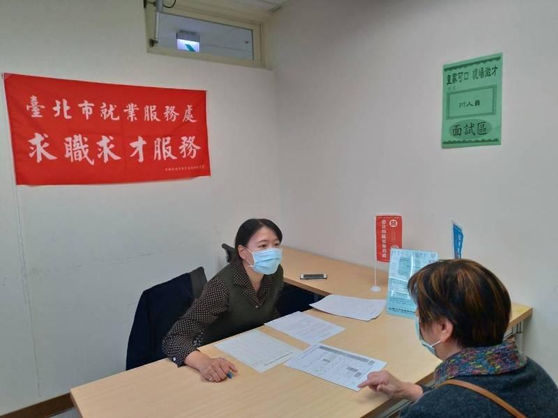 北市勞動局就業服務處23至25日舉辦現場徵才活動。(圖由北市勞動局提供)