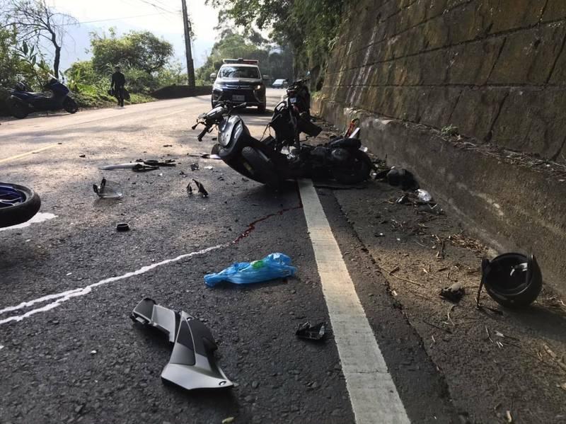 [新聞] 北宜公路2機車相撞 黃牌重機騎士身亡