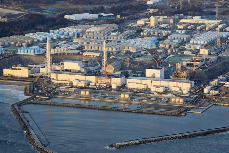 日本漁民在福島沿海捕撈到放射性物質超標的石斑魚。圖為福島第一核電廠。(美聯社)