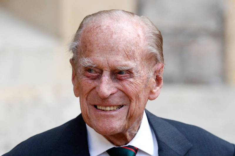 愛丁堡公爵菲利普親王今年6月即將邁入100歲,本月17日因身體不適住進倫敦愛德華七世國王私人醫院( King Edward VII Hospital)。(法新社)