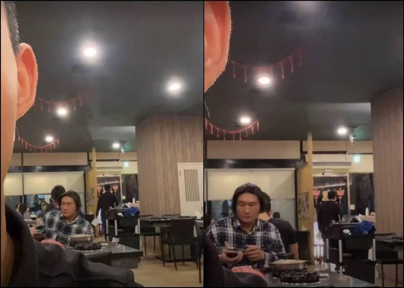 網路近日流傳一張照片,為網友在火鍋店用餐時,意外發現後方戴著假髮的客人,竟神似知名網友「館長」陳之漢,在照片引發熱議後,館長疑似被問到怕,也對此回應表示「吃X火鍋,一直說我吃火鍋」。(圖擷自PTT)