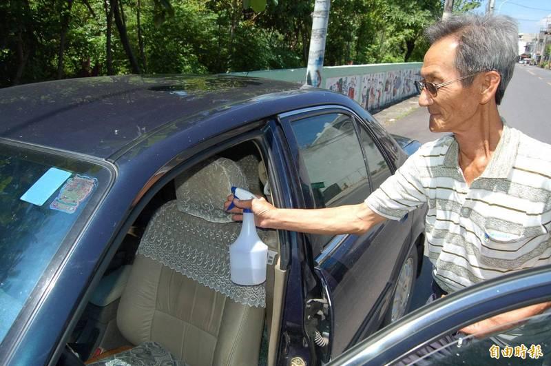 專家表示,噴完酒精後發動汽車產生大爆炸的可能性相當低。示意圖,與新聞無關。(資料照)