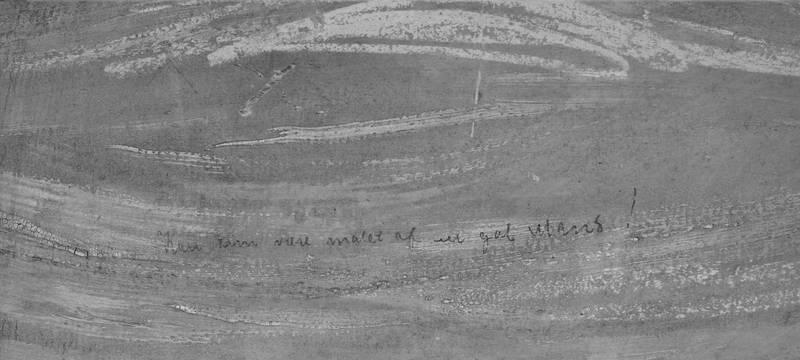 挪威國家博物館透過繼續分析筆跡,並比對了孟克之前的日記和信件,博物館館長麥布里·古倫(Mai Britt Guleng)說:「毫無疑問,這是孟克的筆跡」。(歐新社)