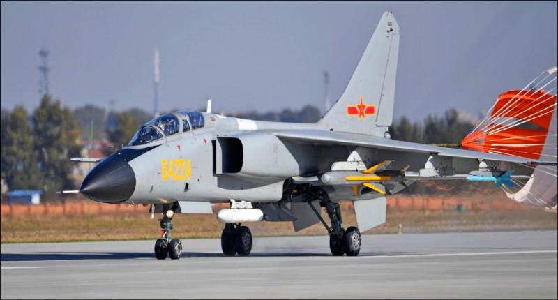 「殲轟7」的同型機。(國防部提供)