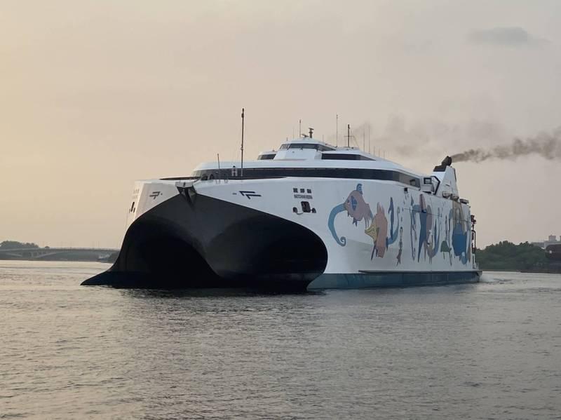 「麗娜號」直航台南安平與澎湖馬公,將於3月啟航。(擷自市府官網)