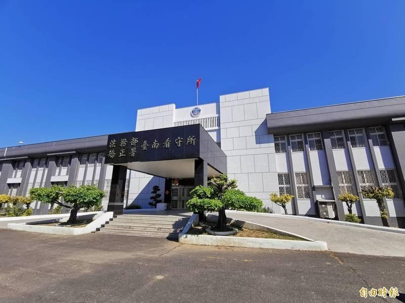 炸彈犯吳富鋐在台南看守所內驚傳死訊。(記者吳俊鋒攝)