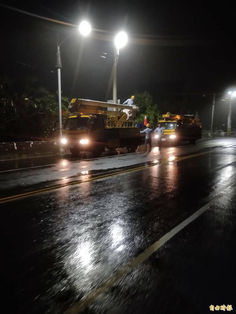 高市今受鋒面影響有下雨,對水情有幫助但不大。(記者陳文嬋攝)