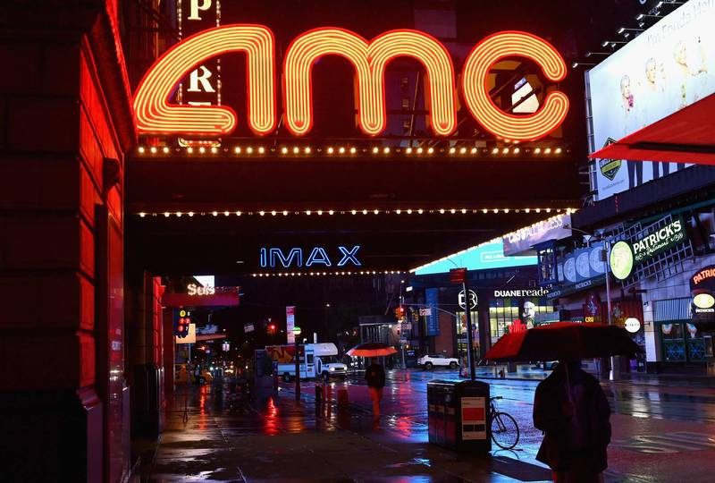 紐約市將在當地時間3月5日開放戲院營業。(法新社)
