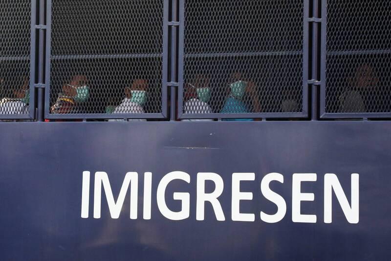 馬來西亞移民局今(23)日表示,已將1086名緬甸難民驅逐出境。(路透)