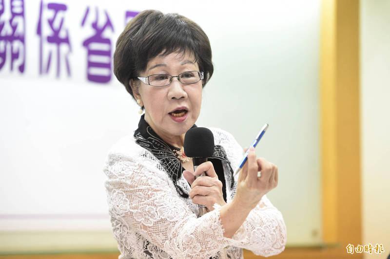 其實早就獨立? 呂秀蓮:中華民國固有疆域不含台灣!