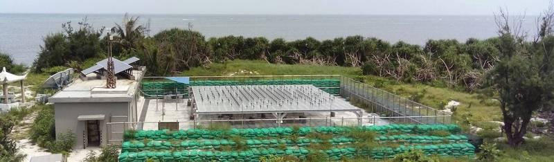 東沙島剖風儀屬於最新世代的氣象雷達概念的應用,是氣象局歷時10年才完工的觀測站。(圖:取自鄭明典臉書)