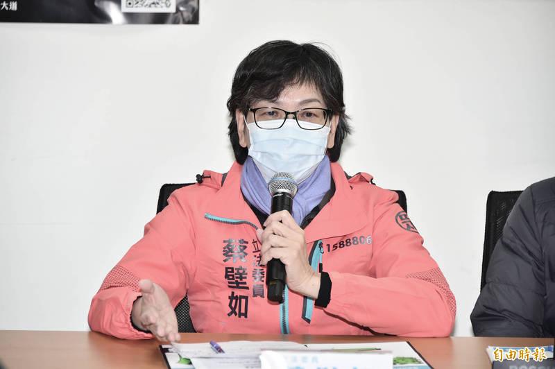砲轟「藍白合」被帶風向 蔡壁如:執政黨逃避年輕人訴求 - 政治 - 自由