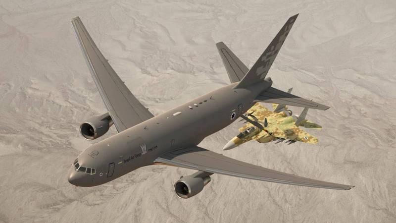 以色列國防部22日指出,將從美國引入新一批波音KC-46加油機與第三支F-35戰機中隊,另外還有V-22傾斜旋翼機與重型直升機等。(擷取自以色列國防部推特)