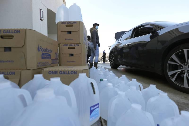 德州仍有880萬人面臨缺水或斷水。(法新社)
