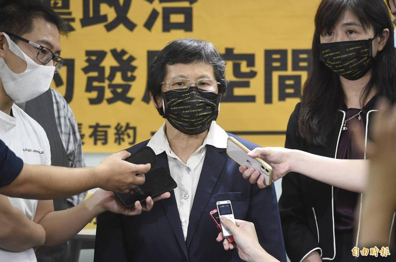 時代力量黨主席陳椒華今表示,<b><a href=