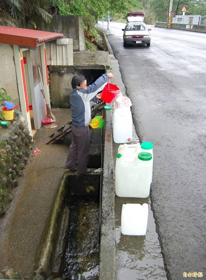 銅鑼鄉新雞隆取水處的大腸桿菌群超標,必須煮沸後才可飲用。(資料照)