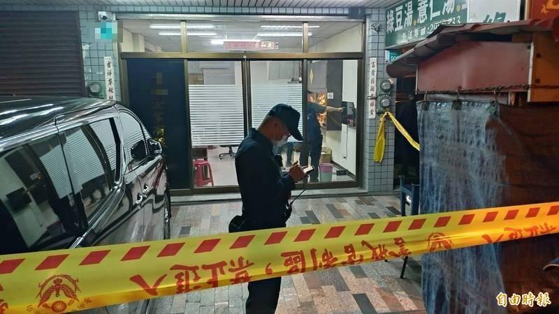 台南安平角頭大哥陳建文在自家公司一樓遭昔日小弟槍殺身亡。(資料照,記者王俊忠攝)