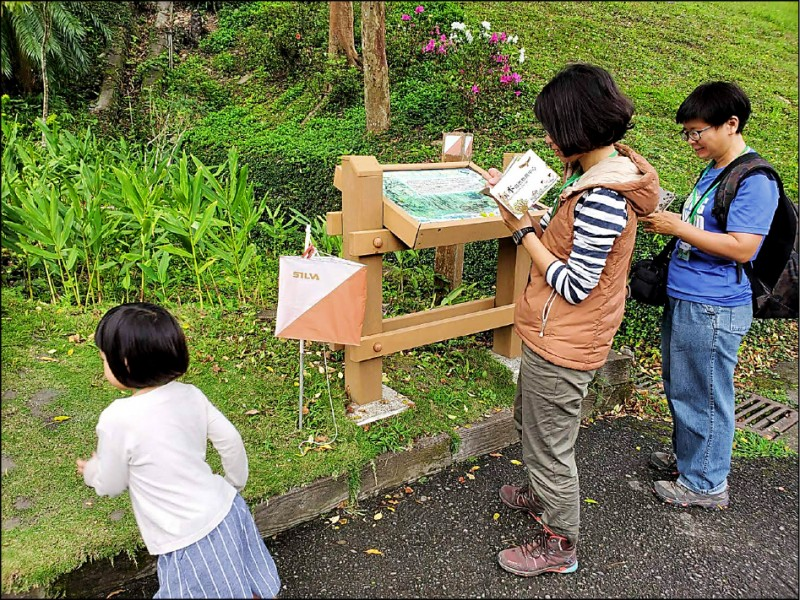 「知森體驗」提供一般民眾、親子團體及入園遊客認識知本森林的生態環境。(台東林管處提供)